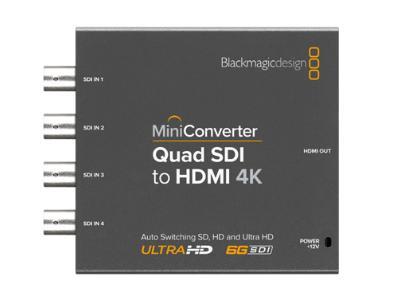 Blackmagic Mini Converter Quad Sdi To Hdmi 4k Lemac
