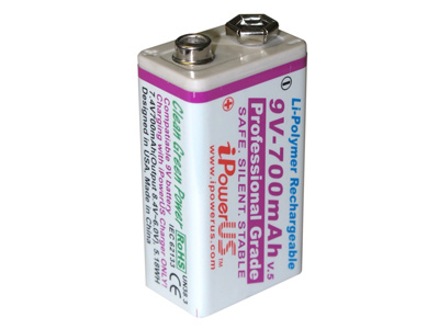 iPowerUS IP9V-700 Rechargeable 9V Batteries - Back in stock!