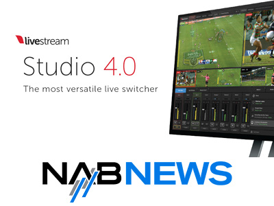 NAB 2016 - Livestream announces new Studio 4.0 and Studio Cloud software.