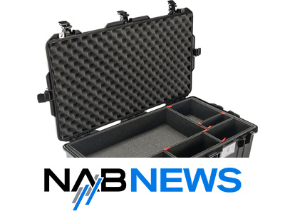 NAB 2016 - Pelican introduces new Pelican Air range of lightweight cases