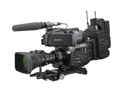 NAB 2019 - Sony Evolves FS7 and FS7 II for News Production with ENG Build-up Kit and B4 Lens Adapter