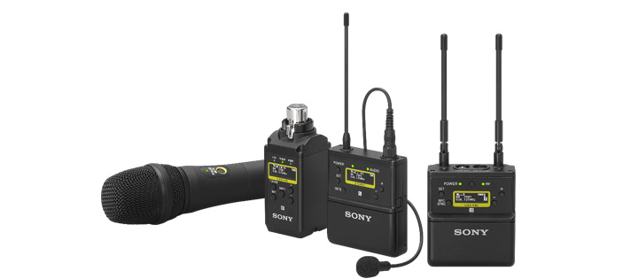 NAB 2019 - Sony launches new high-quality wireless microphone