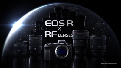 Canon Announces New EOS R System