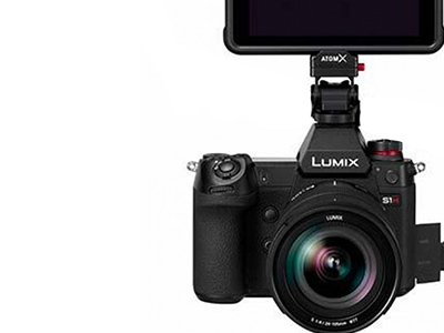 Atomos and Panasonic announce first 5.9K 35mm full frame ProRes RAW recording from the Lumix S1H