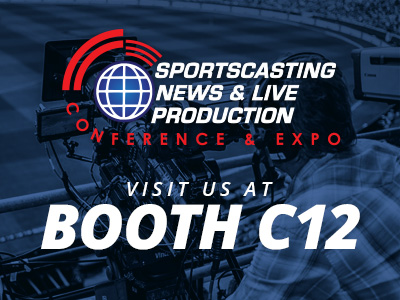 VIC - Visit us at the 2016 Sportscasting, News & Live Production Expo