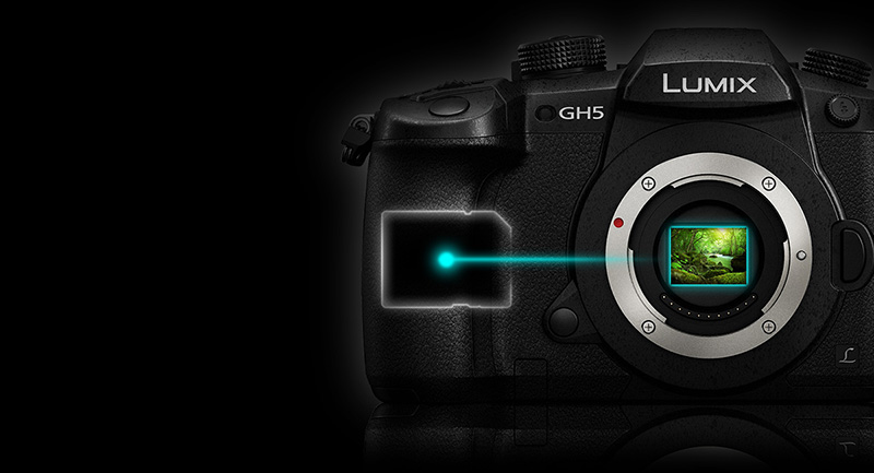 Panasonic Lumix DC-GH5 (Body Only) - Lemac