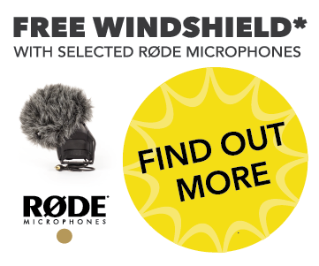 Free Windshield With Selected Rode Mics!